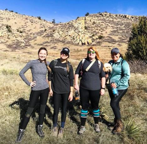 Girls Who Hike Colorado Ambassador Sierra hosting our 2017 #OptOutside group hike