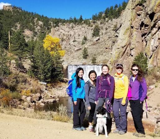 Girls Who Hike Colorado meet up led by Colorado Ambassador Sierra Hodges