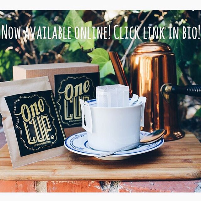Now available online! Shop link in BIO. #onecupcoffee #suitsandknivescoffee #dripcoffee #singleservecup #aselfishproduct