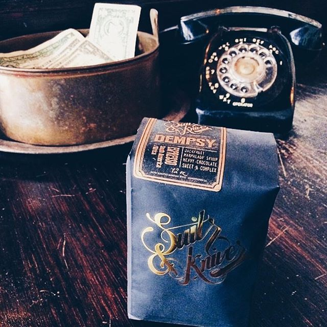 Freshly roasted coffee delivered to your door. Shop online now! LINK IN BIO #coffee #shoplocal #supportlocal #3rdwave #dtla #suitsandknivescoffee