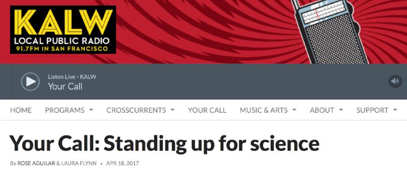 Public radio, april 18, 2017