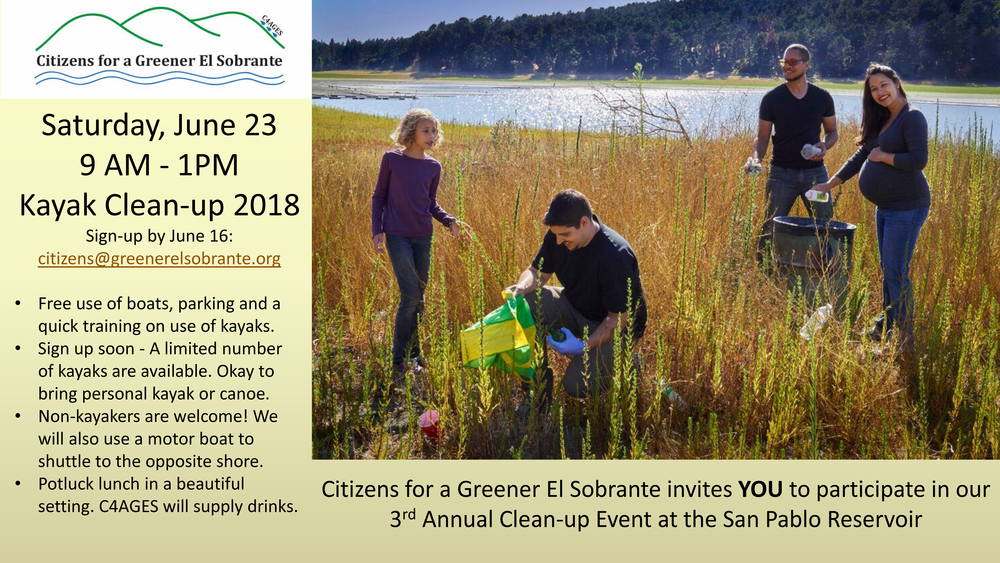 Email  citizens@greenerelsobrante.org  to sign up!