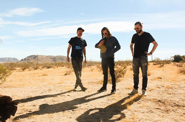 You know that thing when a band retreats to the desert to write the next record? ✔️Expect more expansive sounds in 18❗️ 📷- @aquarising * * * * * #orb #desert #landers #desertstyle #shananigans #desertdaze #dazed #teleskopes #teleskopesband #tbt #throwbackthursday #thursdaymotivation #newsongs #newsound #losangeles #shoegaze #instagood #instagram