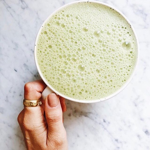 Monday matcha fix 🍵💭 | 📷 @emanuela_caorsi