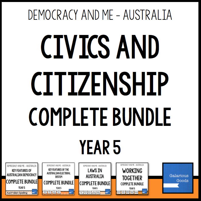 All the resources you need to teach year 5 Australian civics and citizenship