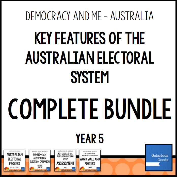 Year 5 Civics and citizenship resources looking at the electoral system and how to run elections in australia