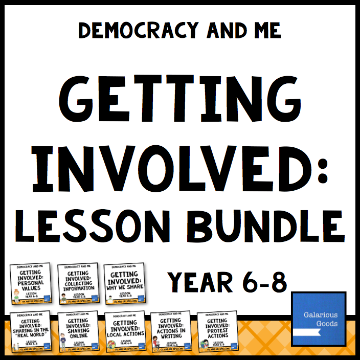 Getting Involves Lesson Bundle from Galarious Goods
