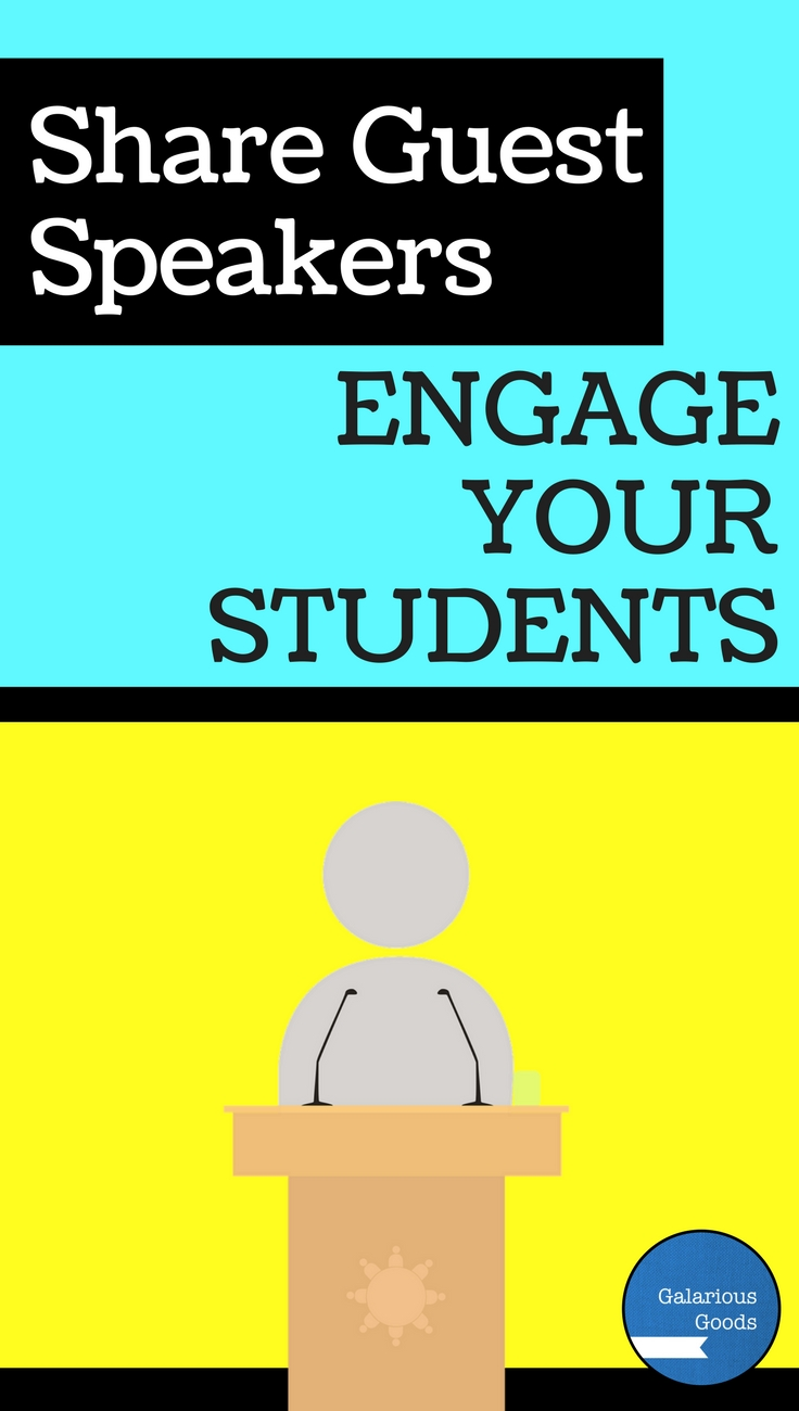 Share Guest Speakers; Engage Your Students