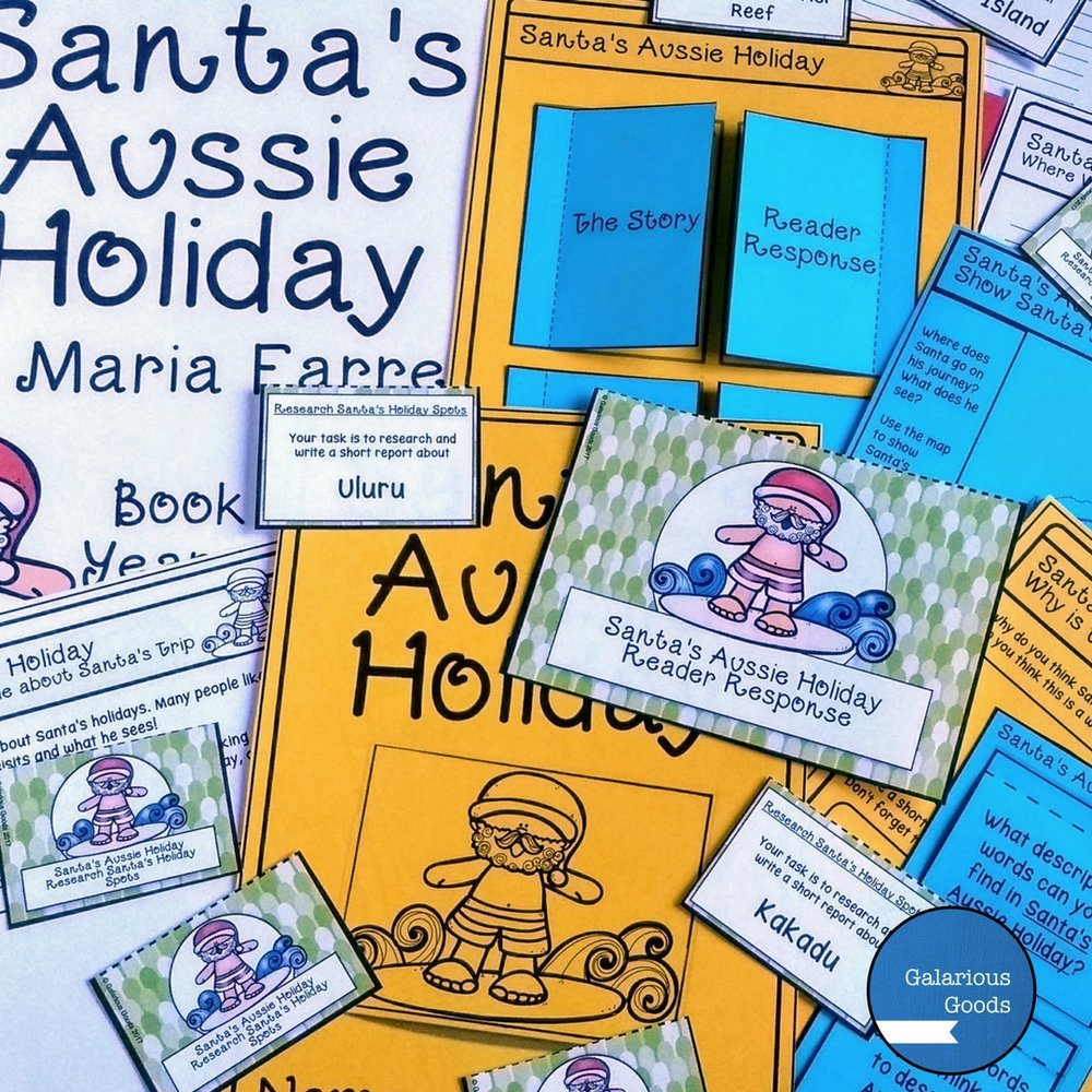 Santa's Aussie Holiday Book Study