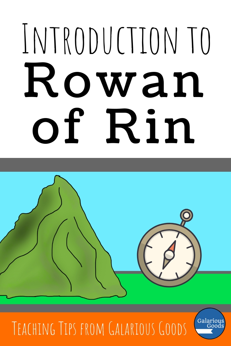 Introduction to Rowan of Rin - a look at Rowan of Rin by Emily Rodda and teaching activities and discussion questions to go with the novel. Includes a look at novel study teaching resources