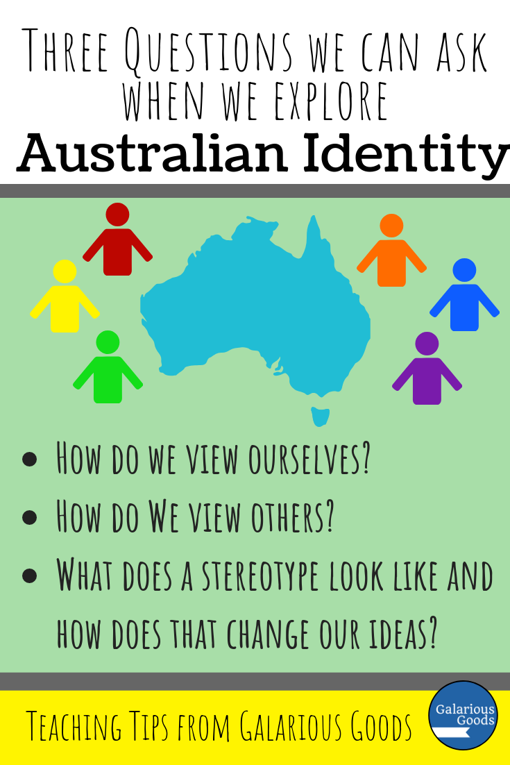 Three questions we can bring to the classroom when we explore Australian identity with our students. These questions can help teachers frame a bigger conversation about what it means to be Australian through the lens of Australian picture books