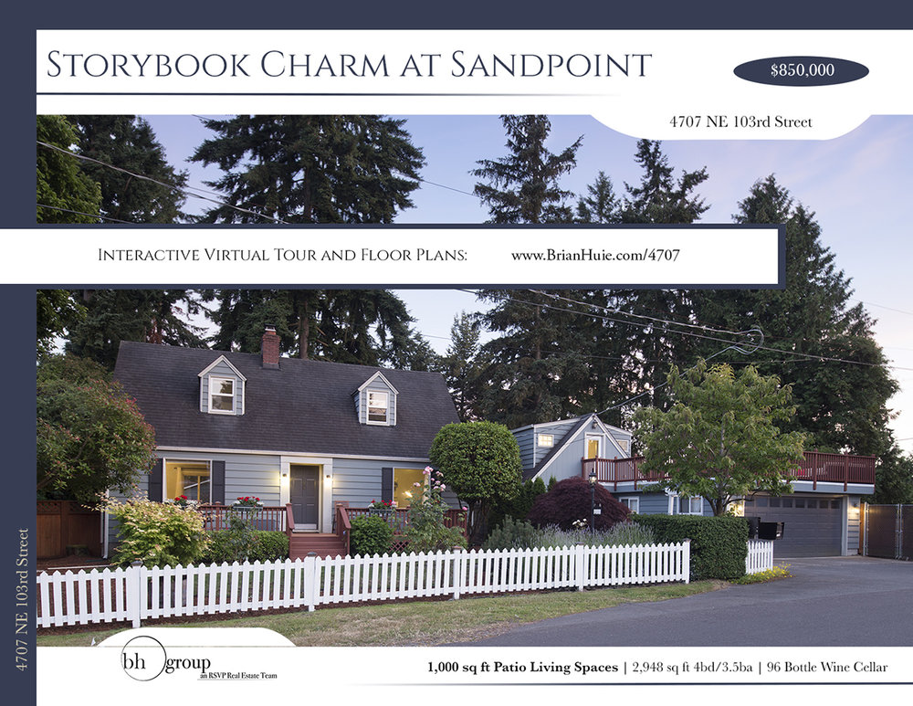 High Quality Print Media - Flyers, postcards, and information sheets are a direct representation of your home.Experts designed and built your home; Experts should design your home's representation. Our print materials are designed by professional designers, to be printed on only high-end finishes, and distributed by marketing experts.
