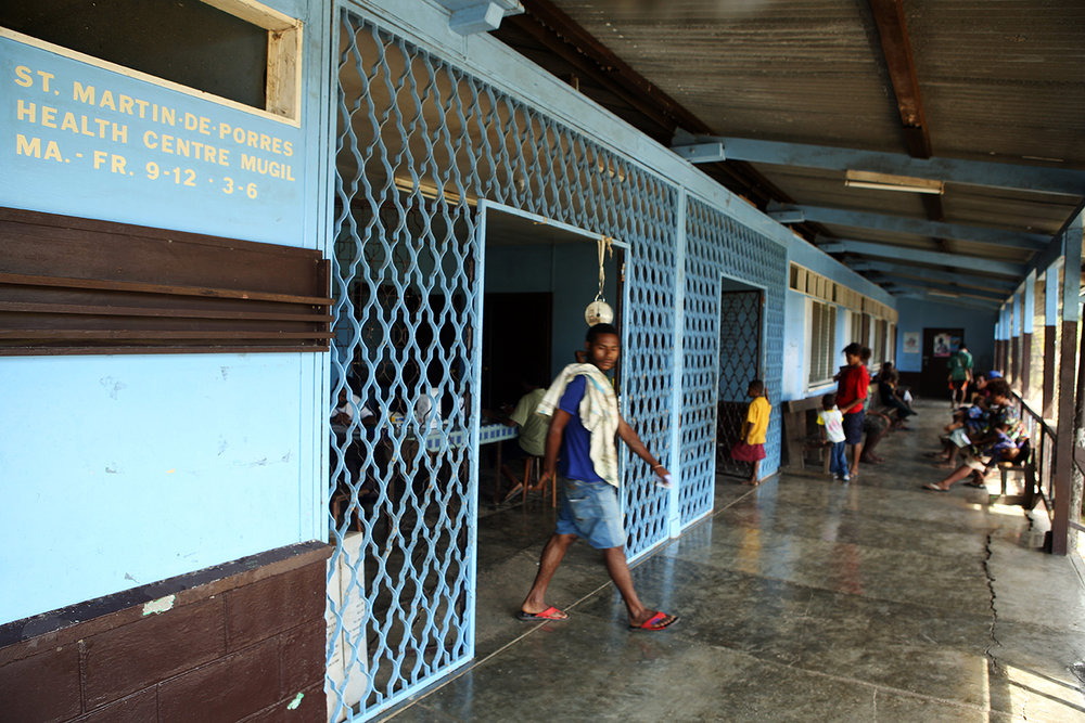 St. Martin De Porres Health Centre in Mugil, Papua New Guinea.