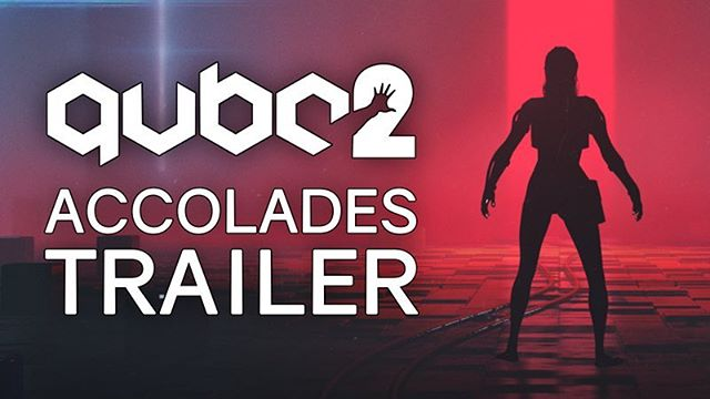 Our studio is proud to share the Accolades Trailer for Q.U.B.E. 2! It's been praised by press and players so thank you all. Hit the link in our bio to watch the trailer! Thanks