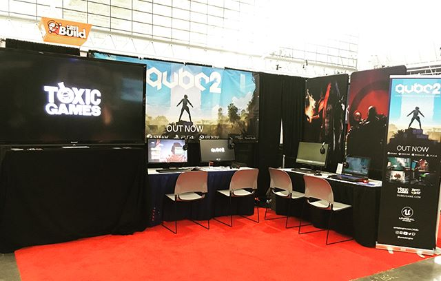 We're setup and ready to rock at #paxeast2018. You can find us in the @indiemegabooth. Come meet the team, grab a discount code and play the game!