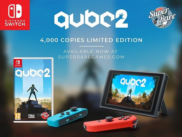 Q.U.B.E. 2 physical Switch versions are now available for pre-orders. Only 4,000 available so get yours now at www.superraregames.com #nintendoswitch #nintendo #gaming #indiegame