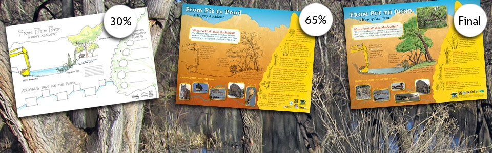 10 Ways to reduce the cost of Developing an interpretive sign - A tight budget doesn't mean you need sacrifice the quality of your interpretive design program. Check out these tips before starting your project.