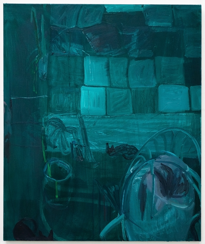 "Oil on canvas  30"" x 24""  2018"