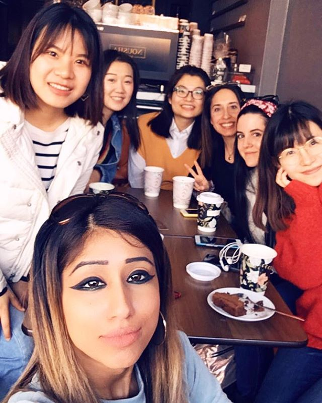 When u go to a coffee shop and Nousha can remember all your names at once 😎 its all love 💕 Rose, Helena, Summer-Li Yuan, Angela, Claudia, Dory 🥂 www.NoushaLounge.com - - @Nousha_Lounge @Nousha_Lounge @Nousha_Lounge - - #NoushaLounge #Southampton #EastStreet #Coffee #Cocktails #Cakes #Friends #CatchUp #Love #Cute #CoffeeTime #PinkHotChocolate #GlitterDrinks #Sparkles #Glam #Extra #BossLife #CoffeeShopVibes