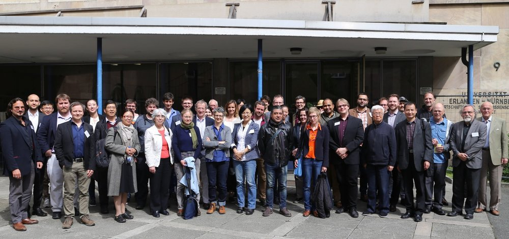 Picture of attendees at fPET 2016, held in May at the Friedrich-Alexander University Erlangen-Nuremberg, in Germany.