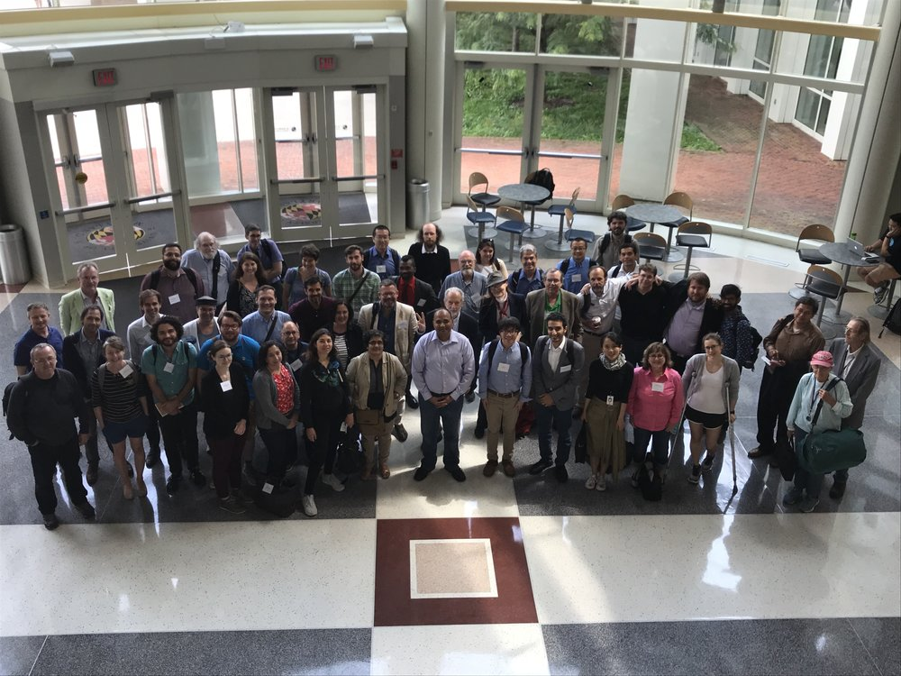 Attendees at the fPET2018 event at University of Maryland, College Park, June 1 2018