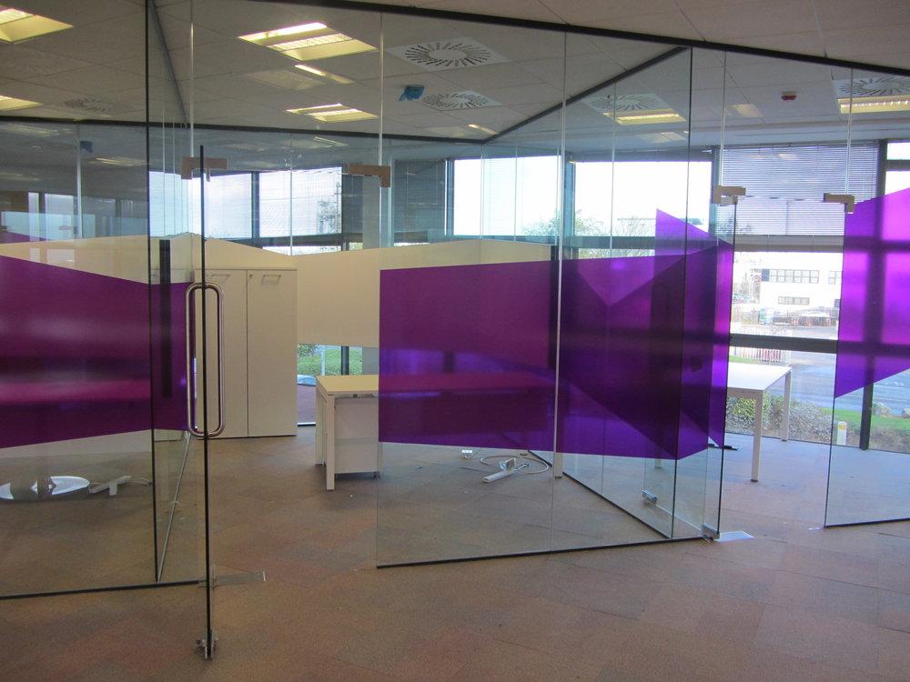 Manifestation on Glass