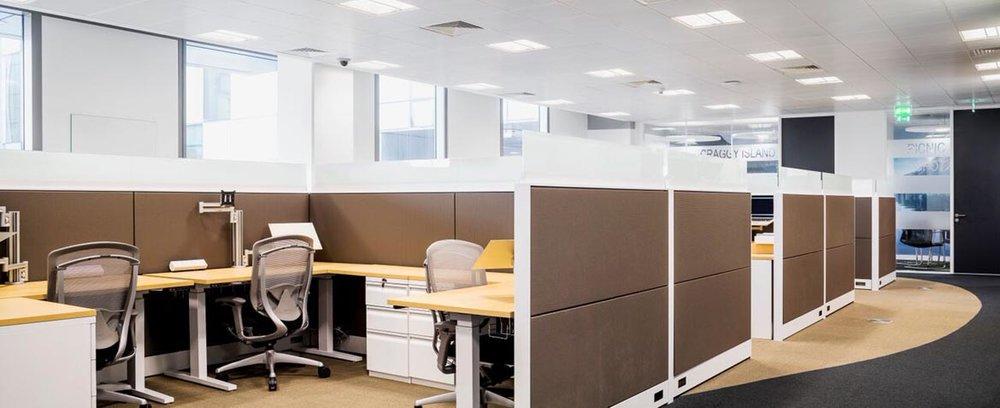 TripAdvisor Open Plan Office