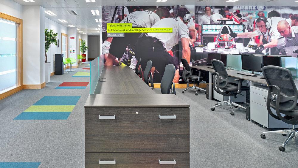 Cartrawler Open Plan Office