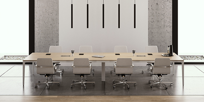 Frezza - Alplus Meeting Table