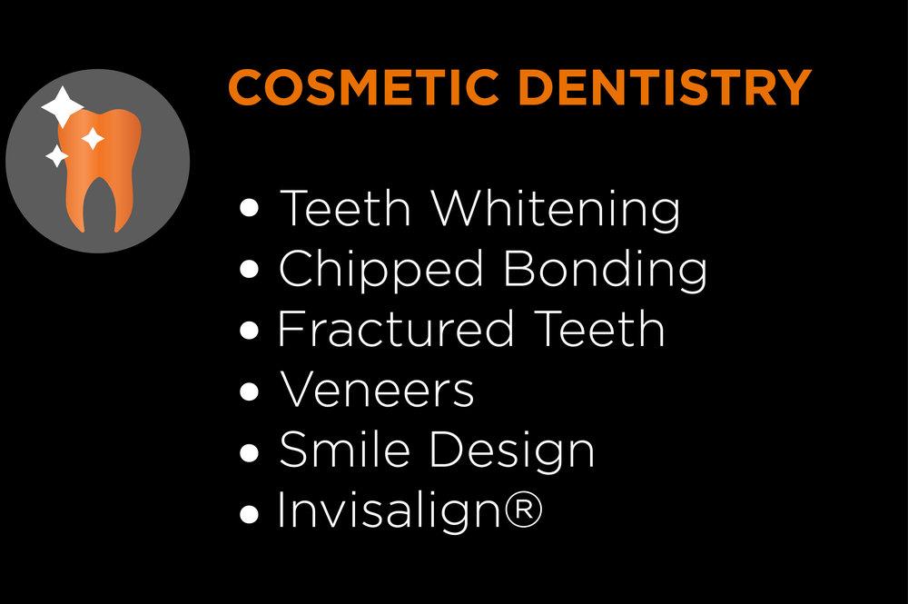teeth whitening chipped bonding fractured teeth veneers smile design invisalign