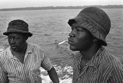 Shrimper & Son , 1978 From Daufuskie Island.Jeanne Moutoussamy-Ashe.