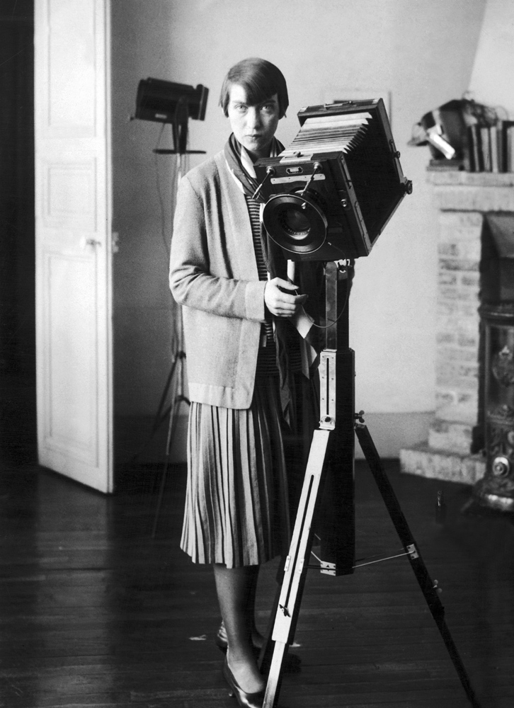 Self Portrait with Large Format Camera, 1925