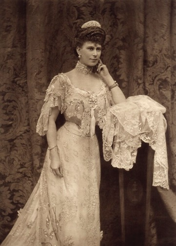 Queen Mary by Alice Hughes, 1905