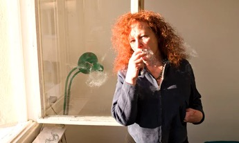 Self Portrait, Nan Goldin, courtesy Matthew Marks Gallery