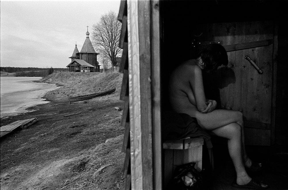 The bath house in Kolodozero
