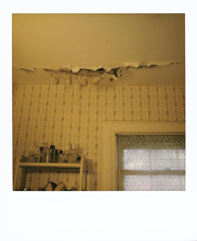 Broken Ceiling Over My Mother's Perfume
