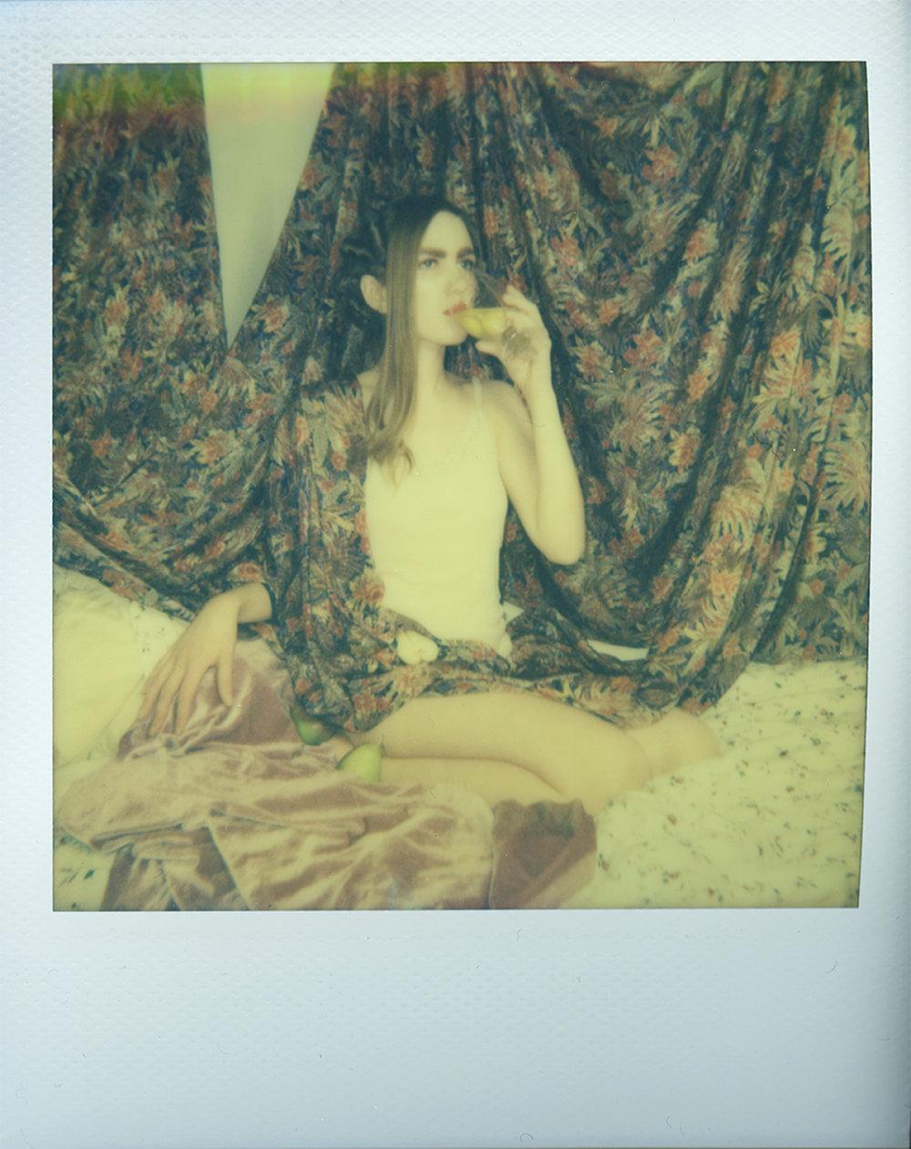 The Morning Of (Test Polaroid)