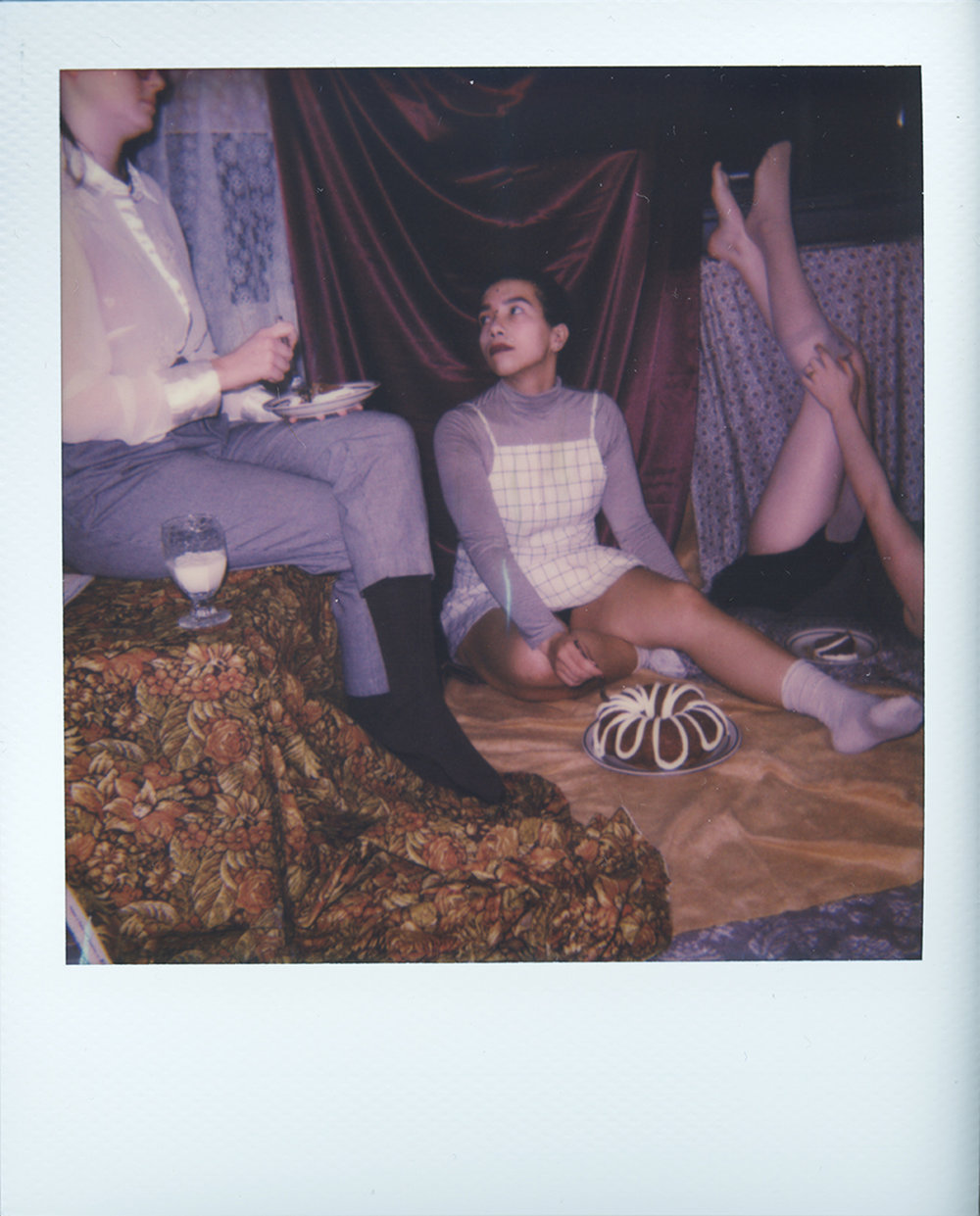 The Dinner Party (Test Polaroid)