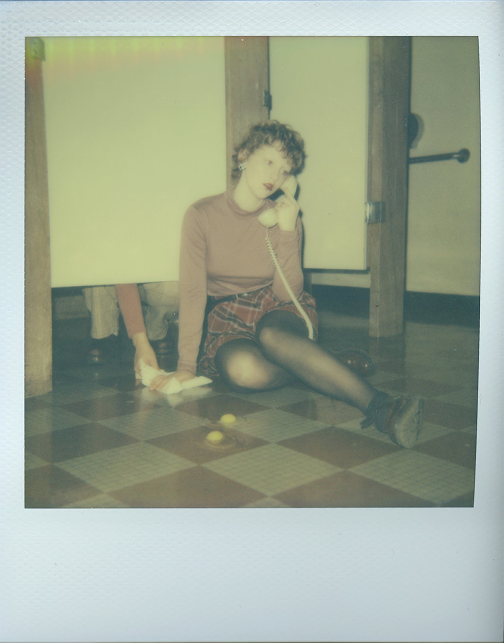 The Phone Call (Test Polaroid)