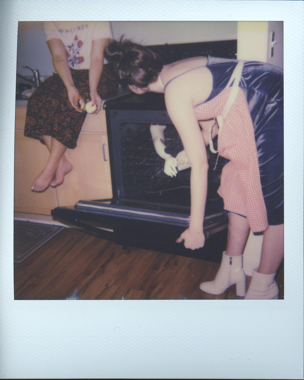 The Night In (Test Polaroid)