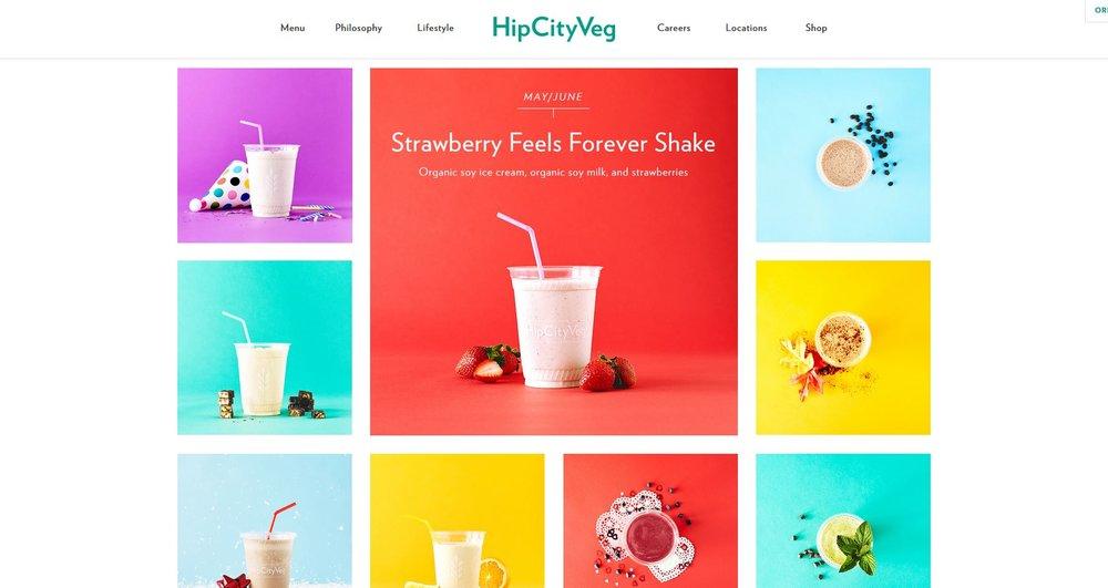 HipCityVeg Strawberry Shake on Calendar.JPG
