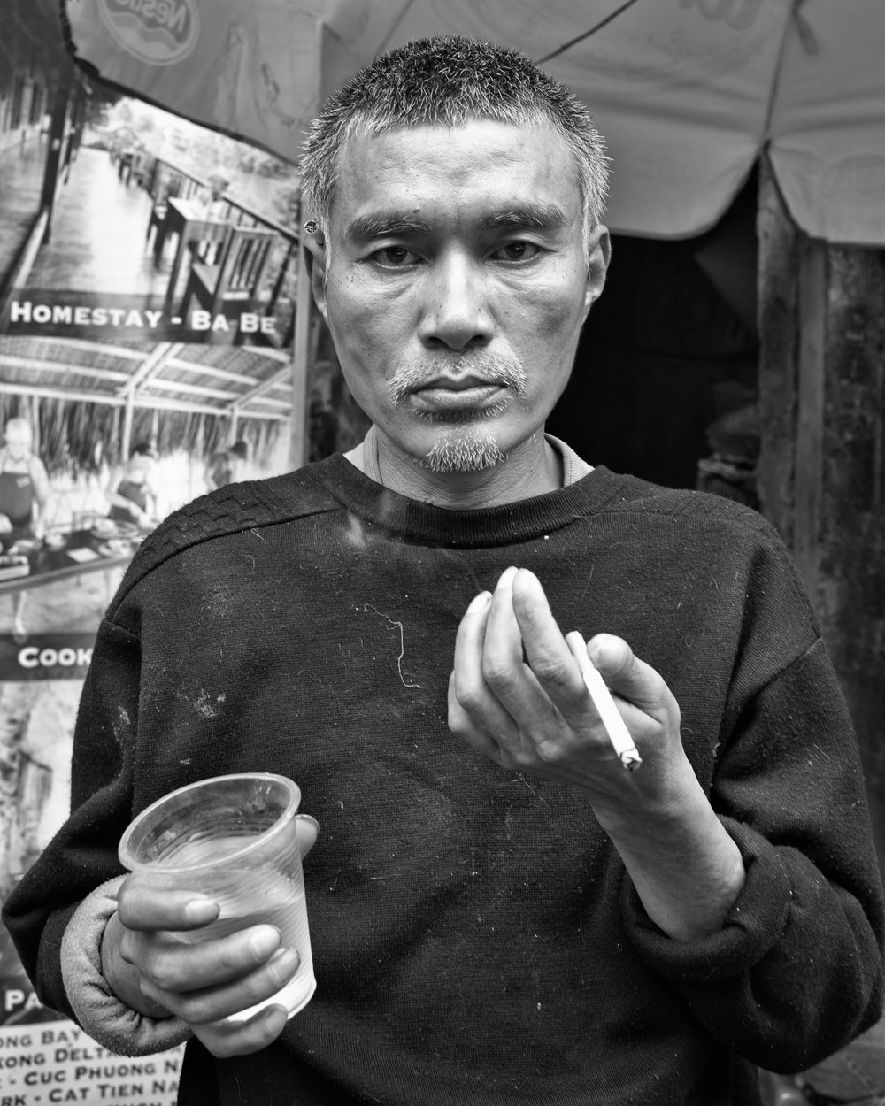 afternoon drinker, hanoi