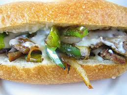 Yummy Steak, Mushrooms and Bell Pepper                                  Sandwich