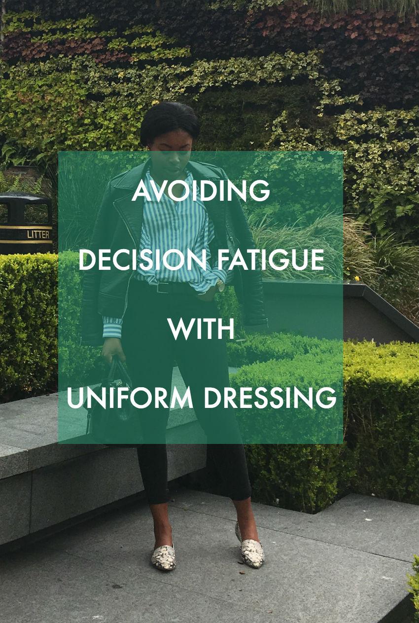 Avoiding Decision fatigue with Uniform Dressing | Marthadahhling