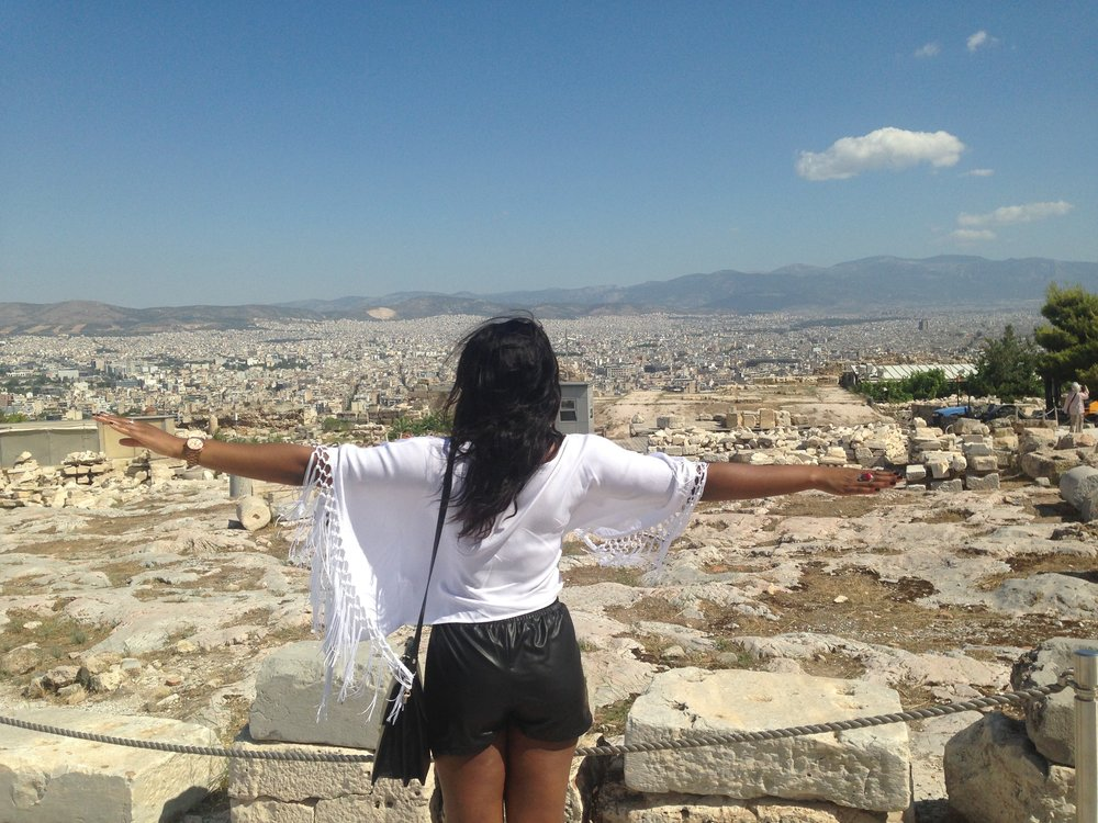 I think I need brownie points for this super cheesy pose! Taken in Athens, Summer 2014
