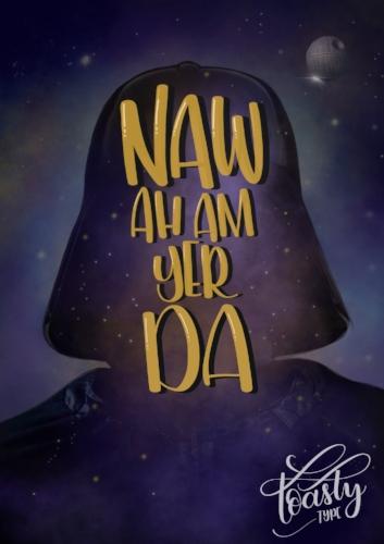 Da Vader- Toasty Type