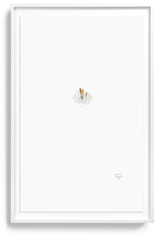 Goût n°24, framed/encadré