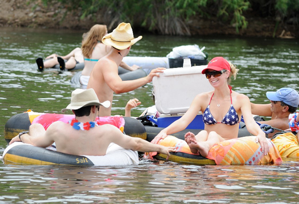 July4 Salt River Tubing