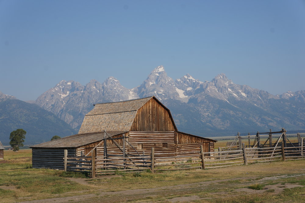"Most photographed barn in the world: ""Mormon Row"""