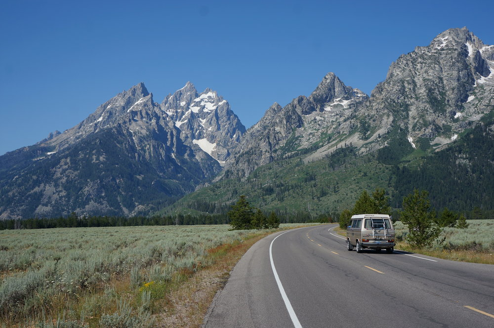 Adios Tetons - we shall return one day.